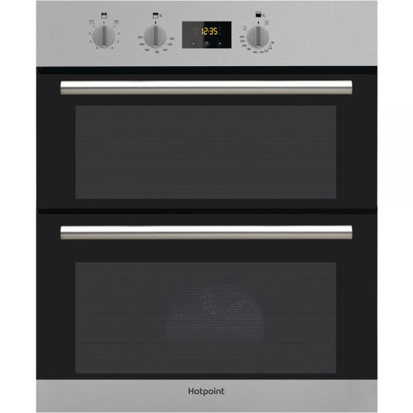 hotpoint built in double oven